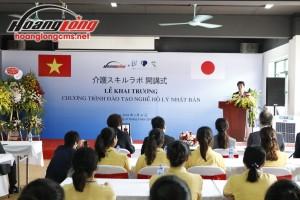Hoàng Long CMS khai trương Trung tâm đào tạo Điều dưỡng hộ lý Nhật Bản
