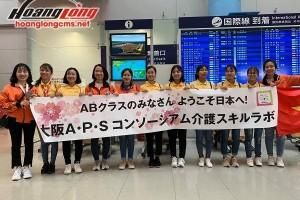 Đoàn TTS Hộ lý xuất cảnh sang Nhật được đón tiếp nồng ấm