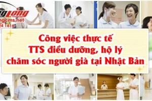 Công việc thực tế TTS điều dưỡng, hộ lý chăm sóc người già tại Nhật Bản