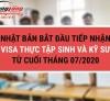 Nhật Bản bắt đầu tiếp nhận visa thực tập sinh và kỹ sư Việt từ cuối tháng 7/2020