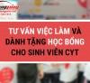 """Tư vấn việc làm và dành tặng học bổng """"Vườn ươm Hoàng Long CMS"""" cho sinh viên CYT"""